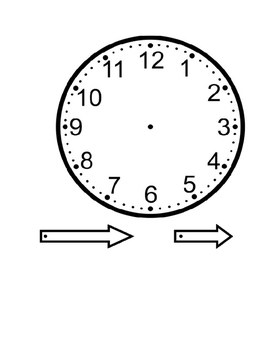 Clock Spinner Template