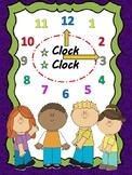 Clock--Telling time