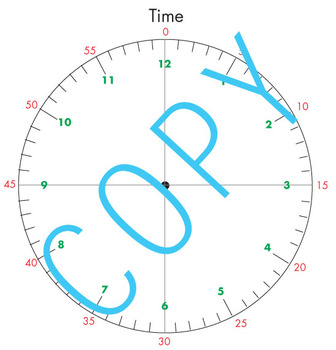 Clock (Time) - art work and printables