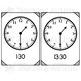 Clock Flashcards