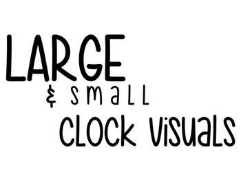 Clock Visuals/Supports
