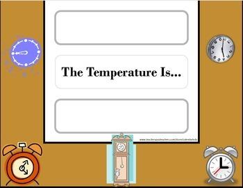 Clock Weather Chart! Clock Bulletin Board! Clock Theme! Time Bulletin Board!