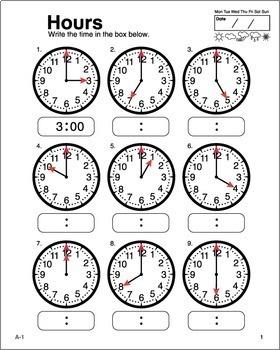Clock Work Bundle