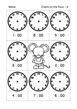 Like Clock Work - Tell the Time