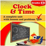 Clock and Time, grades 1-2 (Distance Learning)