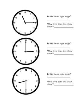 Clock angles