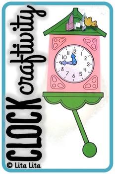 Clock craftivity