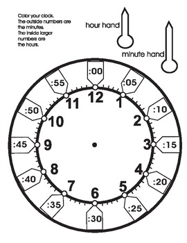 Clock for Children to make