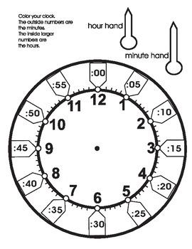 Clock for Children to make