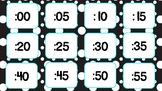 Clock labels FREEBIE! (Black and turquoise)