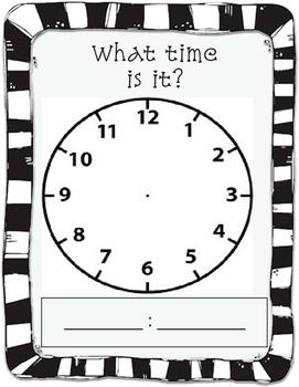 Clock mat