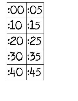 Clock- minute hand