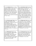 Clock of Eras Information Cards- Montessori 6-9