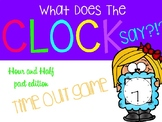 Clock out Knock out game Hour and Half hour edition