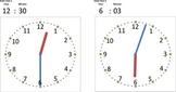 Clock spreadsheet (Excel)