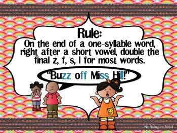 Double the Final Consonant Z, F, S, L with QR Codes