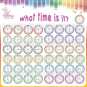 Clocks Cliparts!
