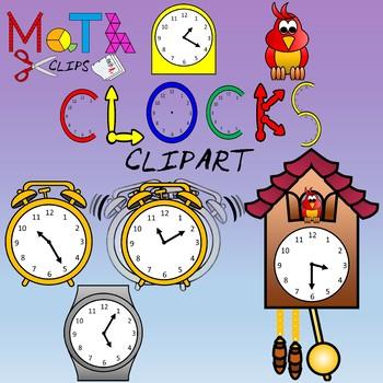 Clocks Clipart