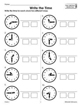 Clocks: Introduce Digital & Analog Time Concepts {Bundle}