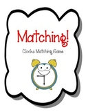 Clocks Matching Game. Clocks.  Telling Time  Math Game Center.  Match the Clocks