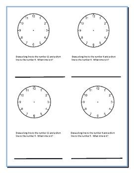 Clocks Time and A Nursery Rhyme