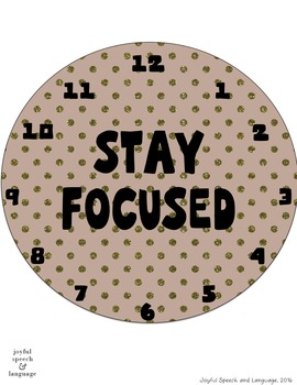 """""""Clocks"""" for Classrooms and Offices - Remind Students to Focus on Work!"""