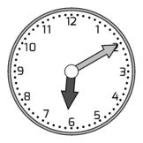 Clocks Clip Art - Intervals of 5 (144 Clocks)