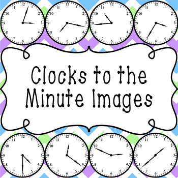 Clocks to the Minute Images