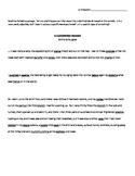 Clockwork Orange Context Clue Reading Activity