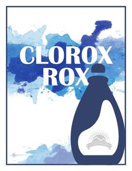 Clorox Rox - Bleach Chemical Change Lab {Editable}