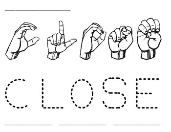 Word Time: Close