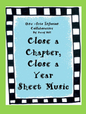 Close A Chapter, Close A Year End of School Year Sheet Music