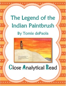 Close Analytical Read of The Legend of the Indian Paint Brush by Tomie dePaola