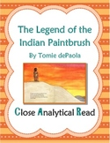 Close Analytical Read of The Legend of the Indian Paint Br