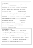 Close Procedure Short Texts - prepositions and verbs