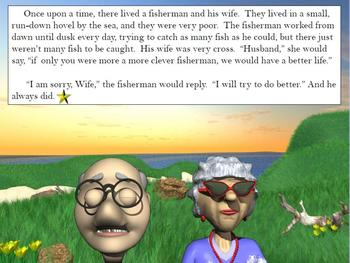 Close Read Animated PowerPoint: Stories, Readers' Theater, Printables & More!