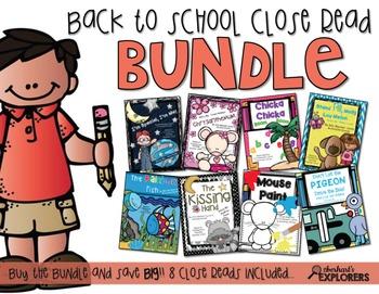 Close Read: Back to School BUNDLE