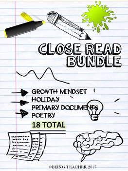 Close Read Bundle