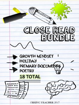 Close Read Bundle