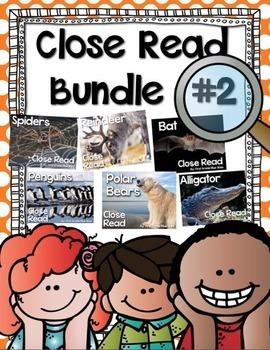 Close Read Bundle Option 2