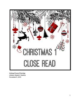 Close Read: Christmas 1