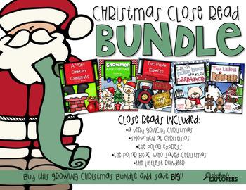 Close Read: Christmas BUNDLE
