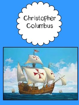 Christopher Columbus ~Close Read & Craftivity included