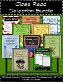 Close Read Collection Bundle: 10 Close Reading Passages fo