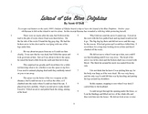 """Close Read Common Core Aligned """"Island of the Blue Dolphins"""" Lesson & Passage"""