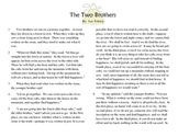 """Close Read Common Core Aligned """"The Two Brothers"""" Lesson &"""