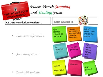 Close Read Common Core strategy posters