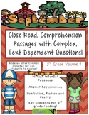 September 3rd - Common Core Close Read w/ Text Dependent C