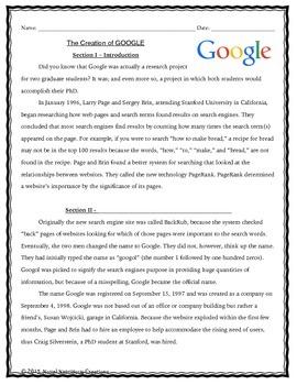 September 7th(V.2) Common Core Close Read Passages Text Dependent Complex Quest.
