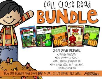 Close Read: Fall BUNDLE